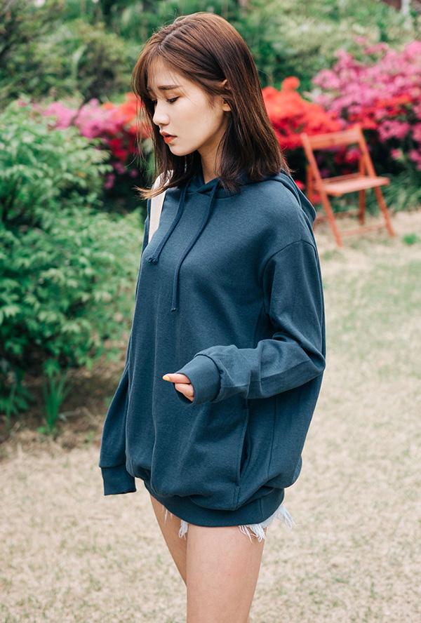 warm hoodie t-shirt (한정수량)